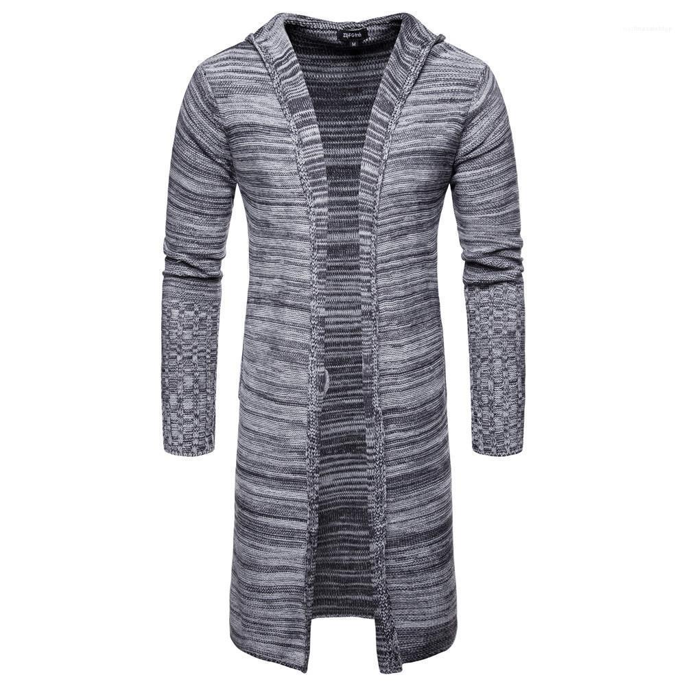 Veste Cardigan Mode Casual Bonneterie Vêtements Manteaux Designer Hommes Pull Long