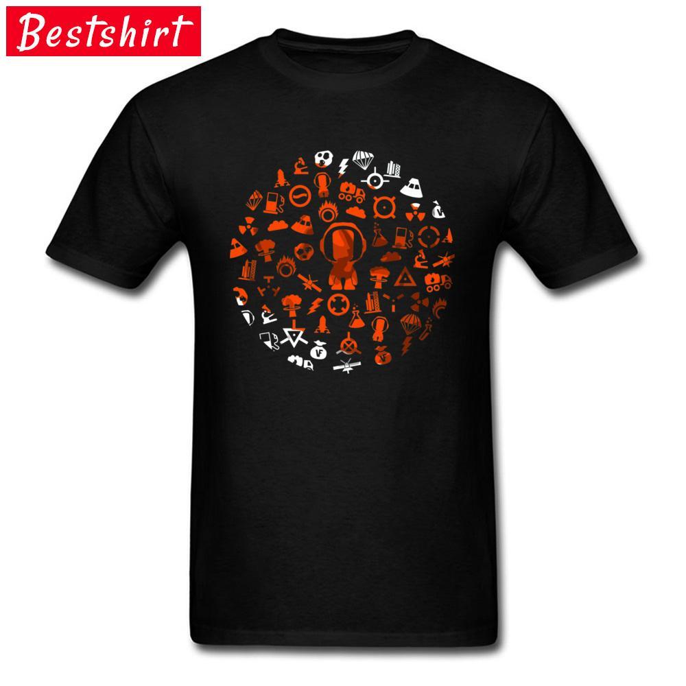 Programma Space Game T-shirt manica corta uomo Plain estate supera i T comodi Girocollo 100% cotone Sogni Effettuare Come True