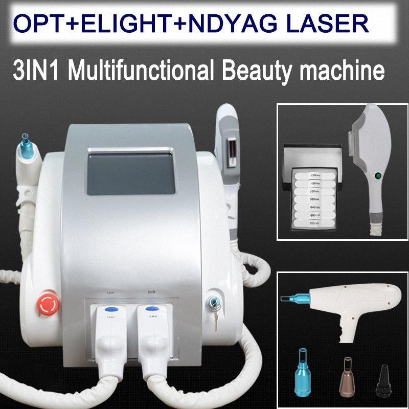 2019 Protable OPT SHR E luz IPL Permanente rápido Depilação tratamento da acne do rejuvenescimento da pele Elight IPL Laser máquina de beleza estiramento VJQA #