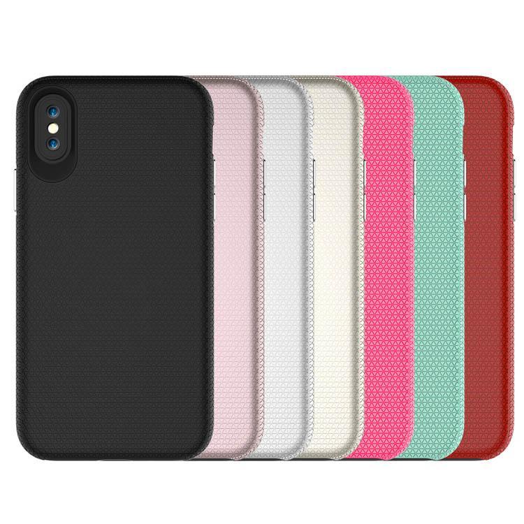 New Korea multcolor 2 in 1 Rugged Hard antiurto TPU PC Phone ibrida della copertura della cassa per l'iPhone 8plus XR X MAX 11 PRO