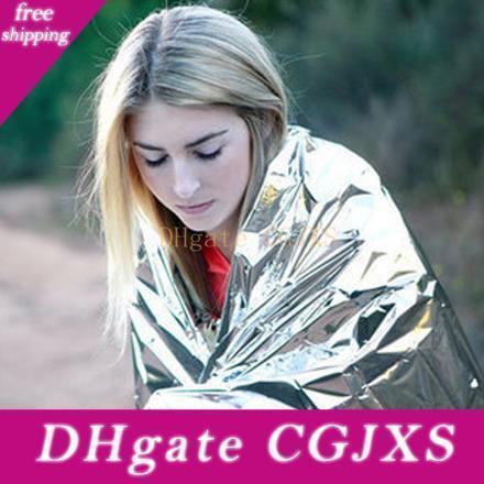 New Design Emergency Blanket Camping Retain Body Heat Outdoor Thermal Waterproof Tent Insulation Blanket 210 *140cm