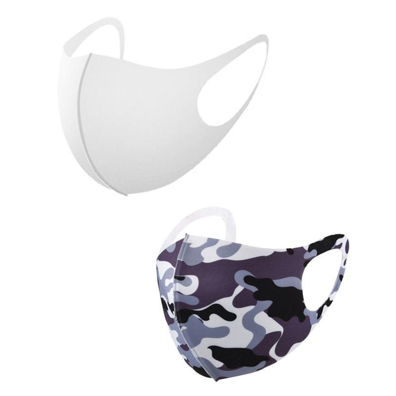 Máscara 3D estereoscópico Blanks sublimação cara Adultos Prevenção Máscara de poeira respirável pode ser reutilizado para transferência de calor impressão DHL frete grátis