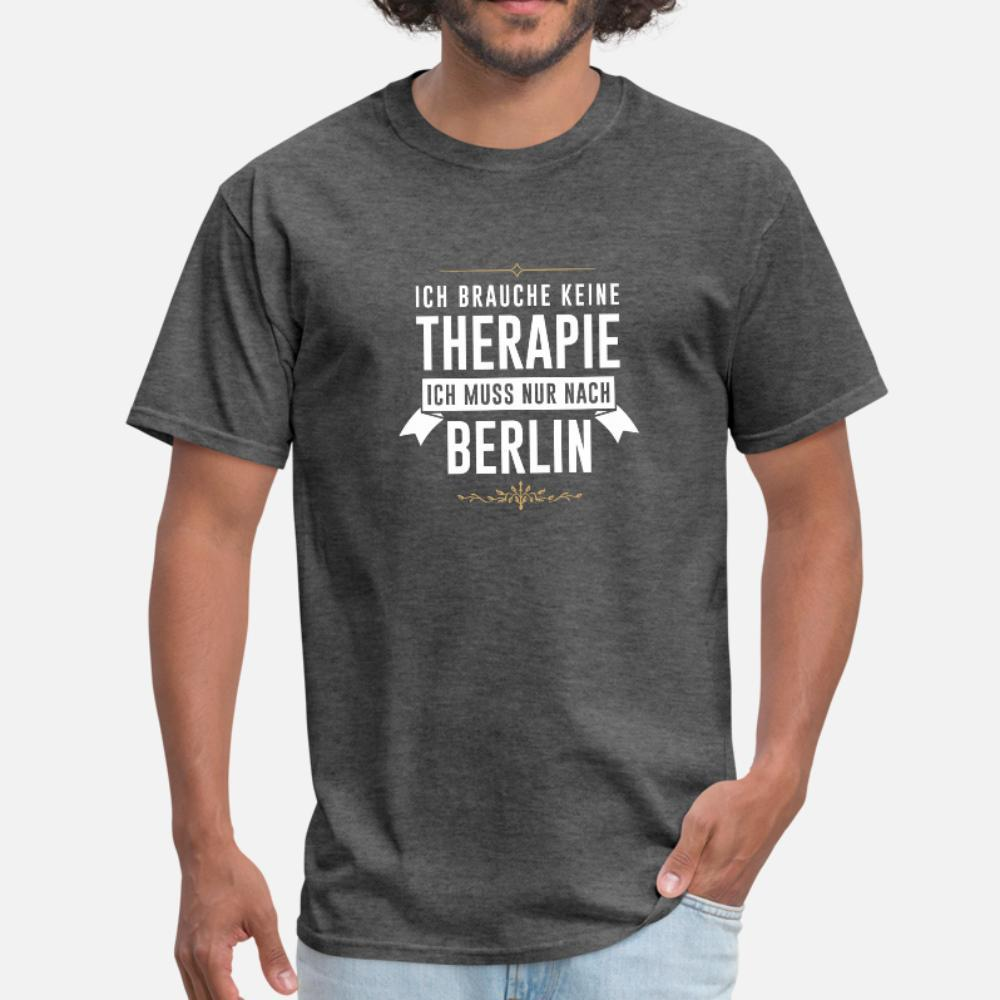 camicia Therapie Berlino urbano Longshirt uomini della maglietta del progettista tee shirt Euro Size S-3XL di svago allentato costruzione Spring Pictures autunno