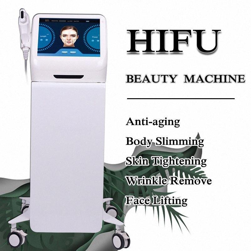 HIFU ультразвукового Anti Aging HIFU подтяжка лица ультразвуковой терапия машина Hifu для подтяжки кожи и профессия удаления морщин машины QaIW #