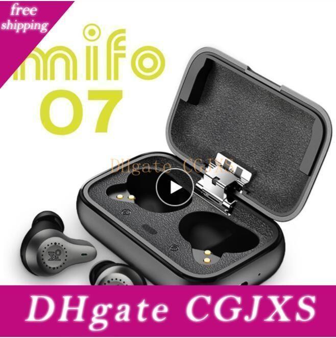 Mifo O7 Duplo Equilibrado Verdadeiros sem fio Fones de ouvido Noise Reduction V5 0,0 Tws Fone de ouvido Bluetooth APTX impermeável Sport Mini fones de ouvido 5pcs Dhl