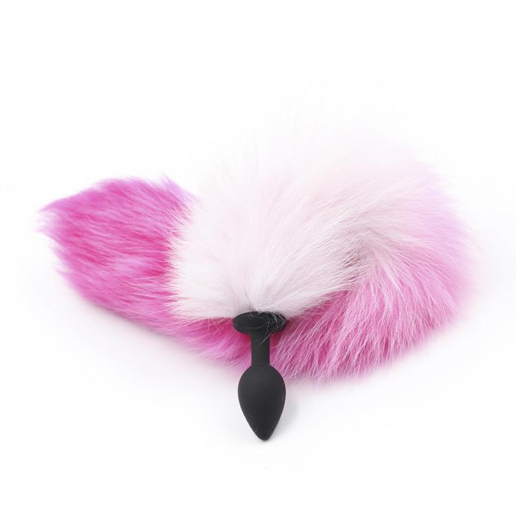 Scoperta Shop Big 3 Tail Sex Sex Metal Size Plug Plug Giocattoli Butt Plug Sex Fox Feather per Cosplay Premium Anale Uqeti
