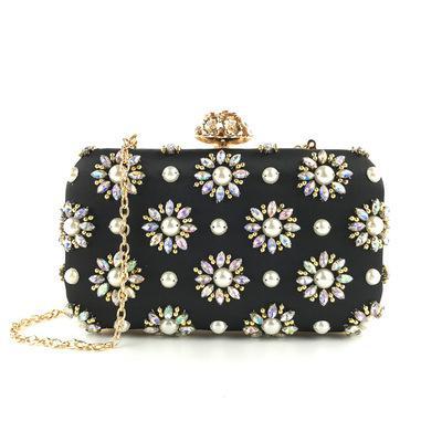 Hangbags новая сумка сумка 2020 бисером для женщин роскошные сумки женские женщины роскошный вечерний дизайнер ручной сумки сумки Glefo