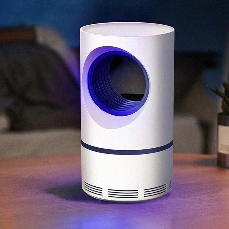 2 en 1 lampe électrique tueur de moustique USB Night Light photocatalyse silencieux anti-moustique lumière UV 8PP8 #