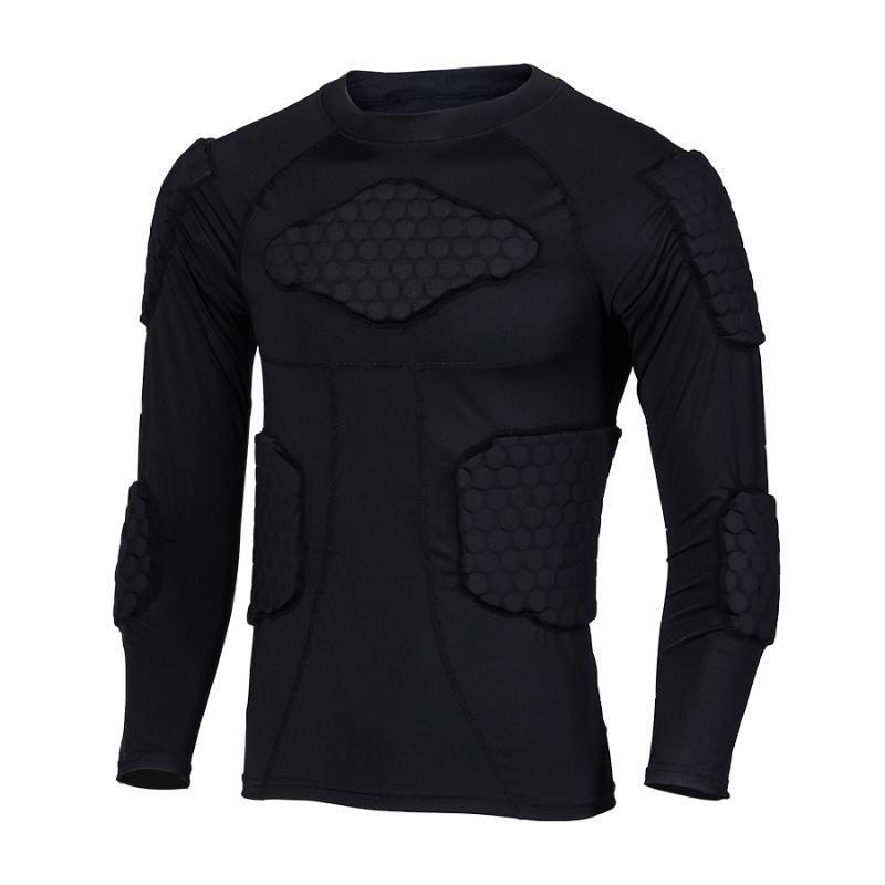Skiing Anti-Collision Sports Shirts Anti-collision Motorcycle Protective Underwear Base layer Moto Body Protective Jacket