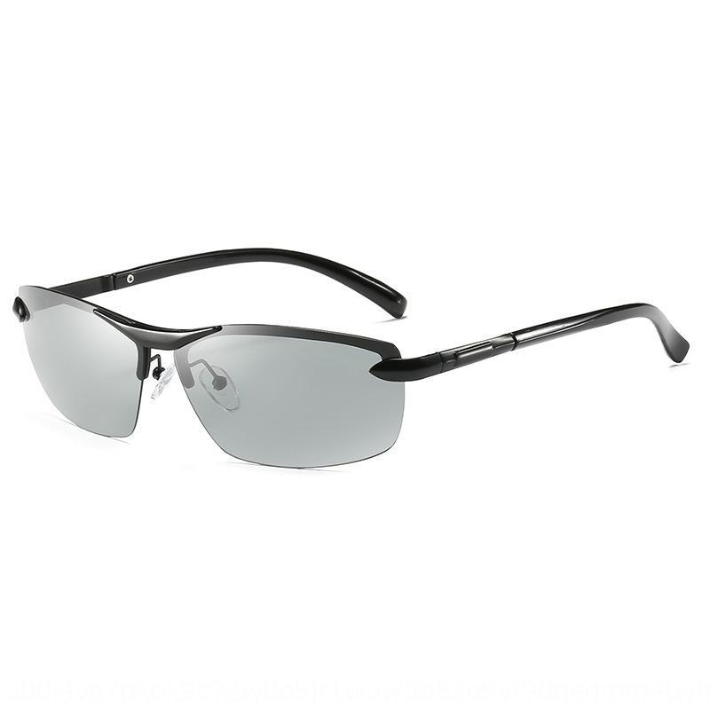 fotocromatica polarizzata A289 di guida per tutte le stagioni sole degli uomini degli occhiali da sole fotosensibili automatici occhiali da sole oZ8e7
