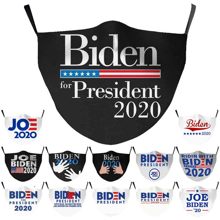 13 стиля творчество Джо Байдена маска Взрослые Чайлдс 2020 США Выборов Поставки маски для лица Keep America Great Trump Рот маски Оптовой DHD788