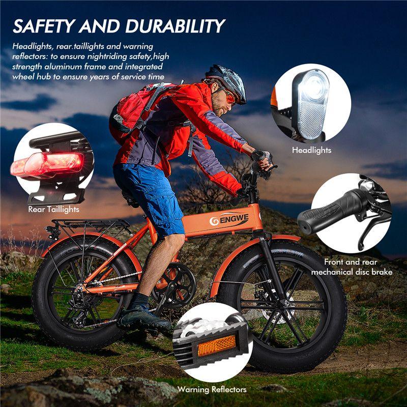 성인을위한 전기 자전거 산 해변 눈 자전거, 이동식 배터리 W41215023 알루미늄 전기 스쿠터 7 속도 기어 E-자전거