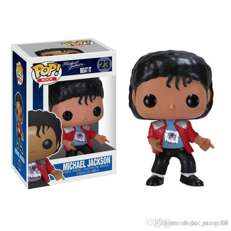 Michael Jackson's Multi цветные мальчика и девочка игрушечная модель детская кукла ручной работы по новой моде знаменитости