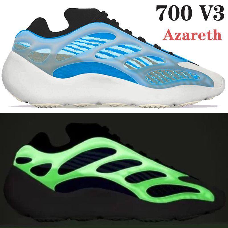 الأحذية NEW 700 V3 كاني ويست Azareth Azael alvah OG تشغيل يعكس نمط رجل في الهواء الطلق أحذية رياضية المدربين النساء الرياضة الولايات المتحدة 5-11