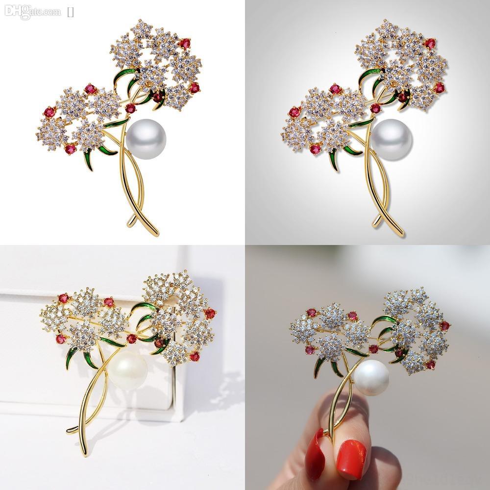 x0jmU Женские ткани жемчужные броши цветы алмаз камень корсаж камень персонализированные мешок лук галстук воротник панда броши творческого барокко broochPe