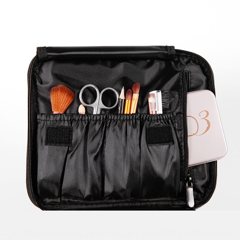 Double-couche lavable portable étanche mode Voyage femmes Stockage cosmétique sac de rangement sac cosmétique