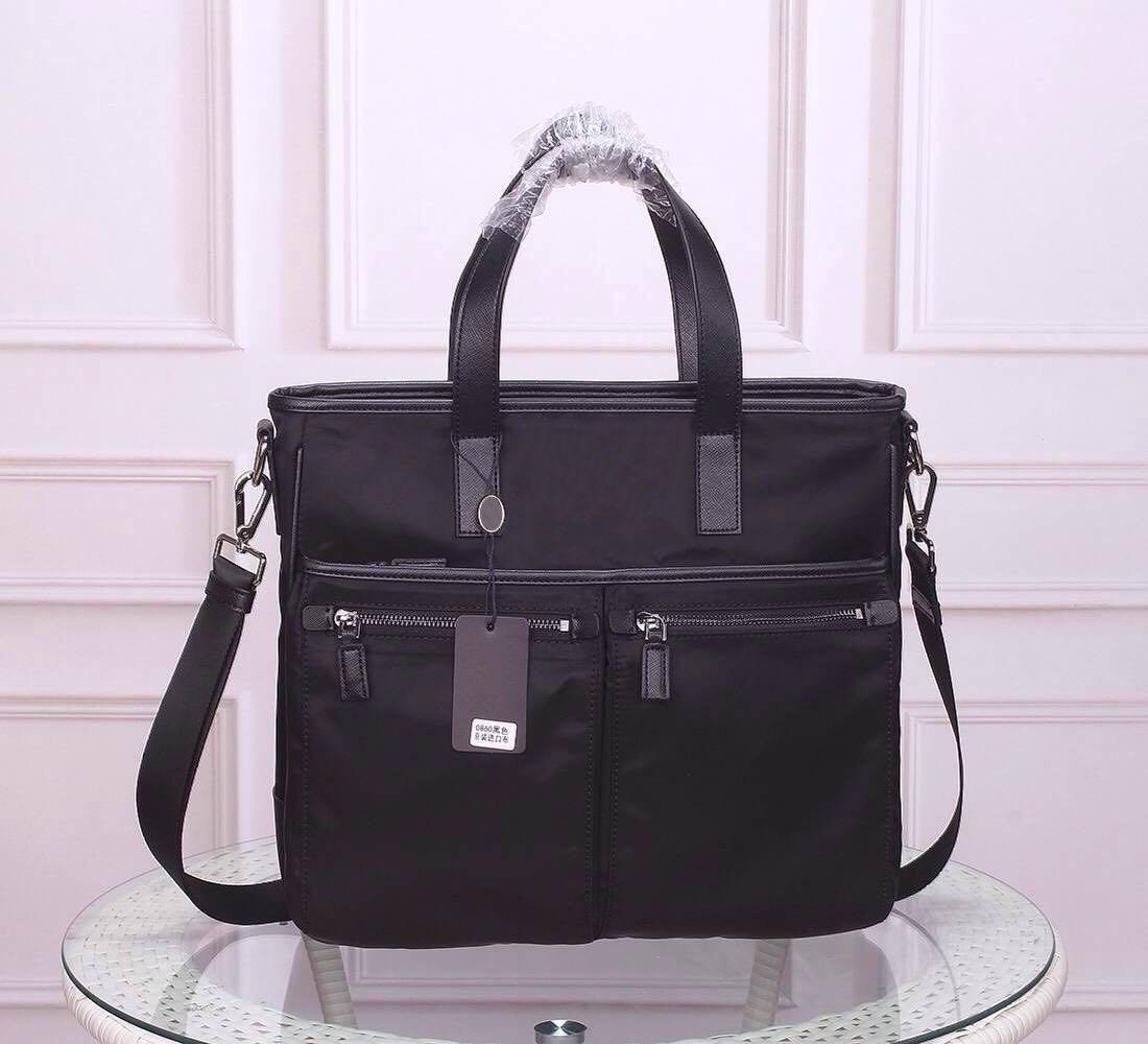 adam belge çanta için erkekler için toptan evrak erkekler Omuzlarinda torba su geçirmez tuval sığır derisi deri moda Kadın omuz çantası Tote çanta