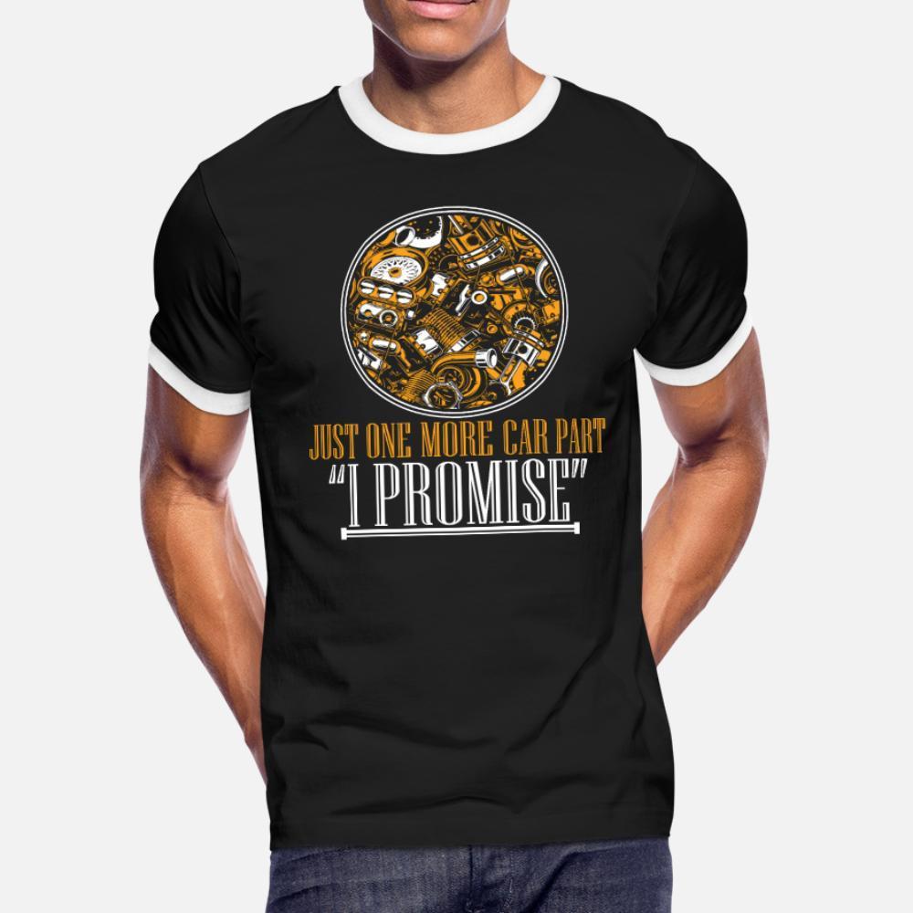 Só mais uma peça do carro Auto camisa homens Mechanic t de algodão de malha S-XXXL da camisa Outfit solto Edifício Verão Style Standard