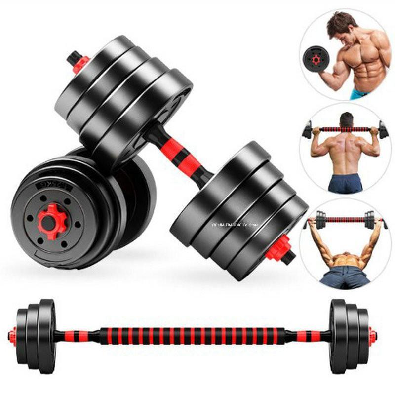 الرئيسية / صالة الألعاب الرياضية 30 كيلوجرام الدمبل مجموعة اللياقة البدنية ذات الرأسين ممارسة التدريب dumbell / الحديد، قابل للتعديل اليد الرجال النساء لرفع الوزن