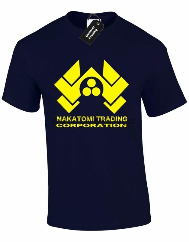 NAKATOMI Herren T-Shirt RETRO FILM DIE HARD DESIGN CULT FASHION TUMBLR Instagram