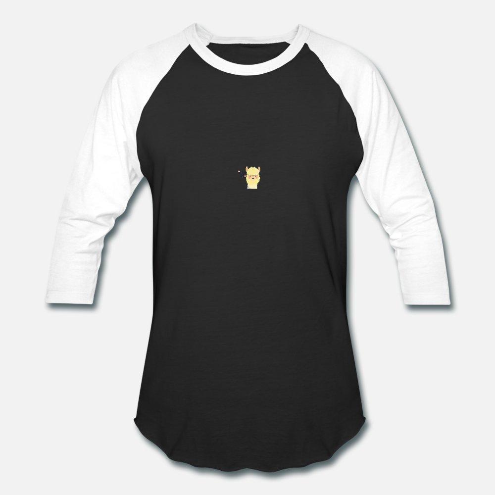 100% algodón de moda de cuello redondo natural anti-arrugas de alpaca Lama Cosas Buenas hombres de la camiseta personalizada camisa del estilo de la letra del verano