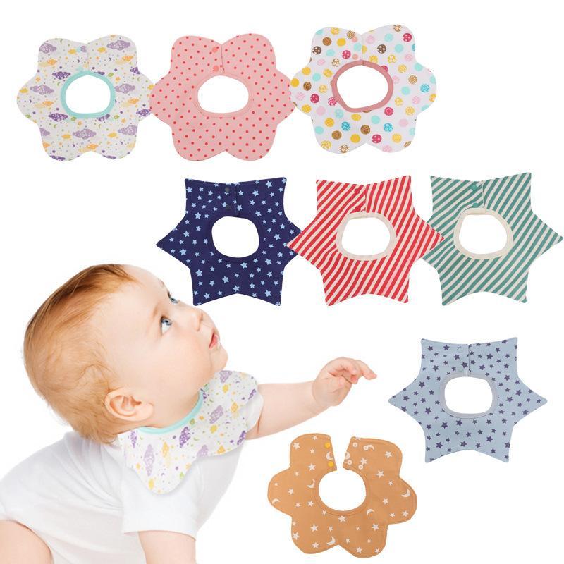 suprimentos materna e infantil rotação de 360 graus multifuncional bebê bib impermeável saliva toalha de babadores Crianças