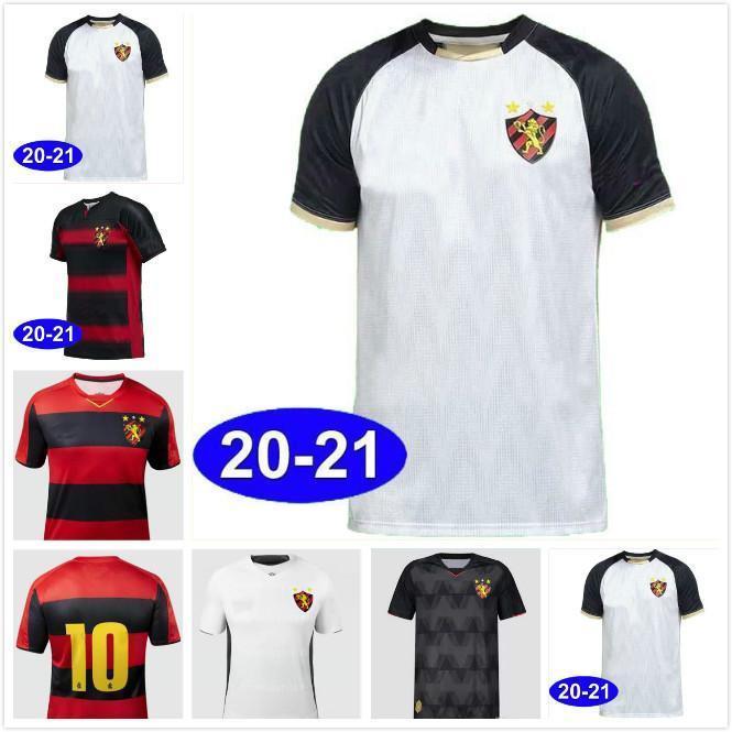 2020 2021 Sport Recife 115ª casa de cumpleaños del fútbol rojo de los jerseys brasileño Sport Club do Recife 115 años camisetas de aniversario