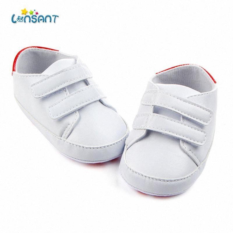 LONSANT Новорожденных малышей Обувь Классические Детская обувь Первые Walker Мода Детские Мальчики случайные девочка Jgzh #