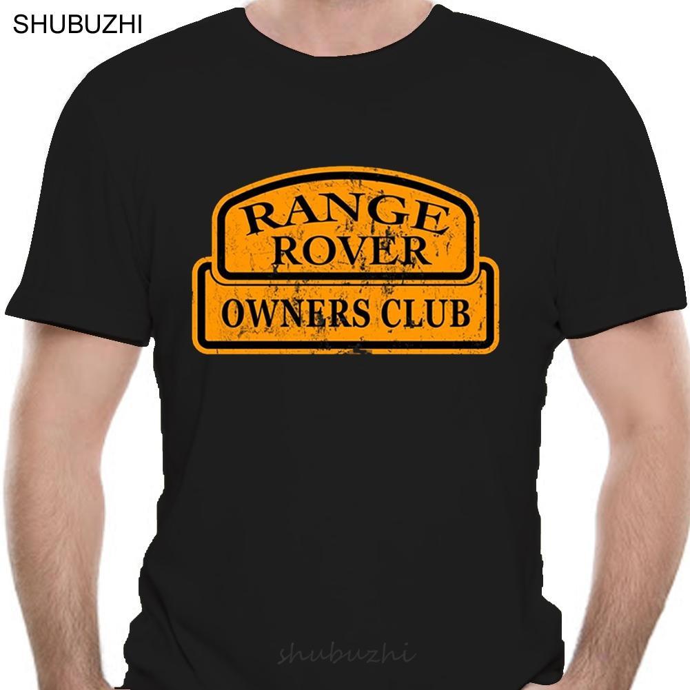 Range Rover maglietta del cotone maglietta di modo degli uomini estate T-shirt di euro modo di formato T-shirt da uomo marca Teeshirt Cotone