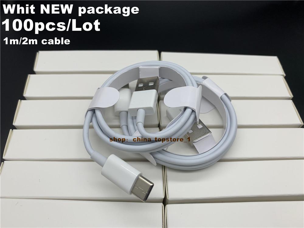 DHL 100pcs / lot 7 세대 OEM 품질 1m / 3ft 2m / 6ft 케이블 IP 7P XS USB 데이터 동기화 전화 케이블 소매 포장