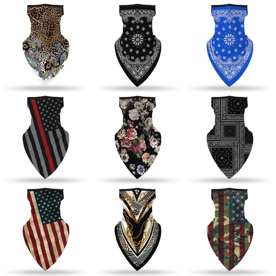 Градиент Волшебное Printed Multi-Color Anti-Uv маска для лица шеи Лето Многофункциональный шарф Открытый # 122