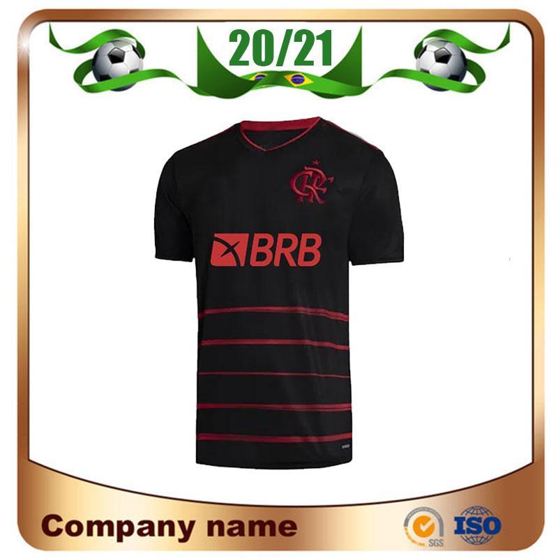 20/21 Flamengo üçüncü uzakta Futbol Jersey 2020 Flamengo GUERRERO DIEGO VINICIUS JR Futbol forması Gabriel MANCUELLO futbol üniforma