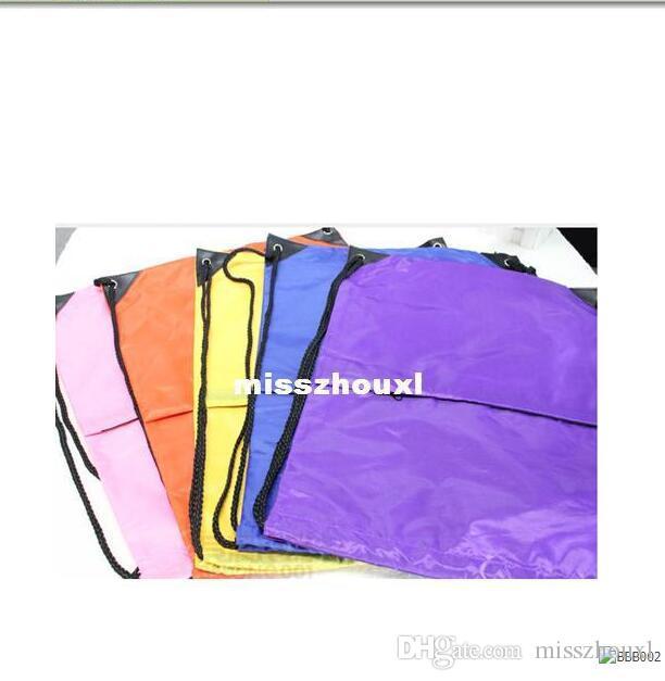 Wholesale - NEW Gym Swim School Dance Shoe Boot PE Drawstring Bag Backpack, Portable String Bag Drawstring Backpack
