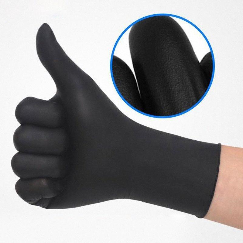 Stokta sürü! Bir dereceli ücretsiz kargo i0cc # anti-asit eldiven Anti-skid Tek Nitril lateks eldiven özellikler opsiyonel