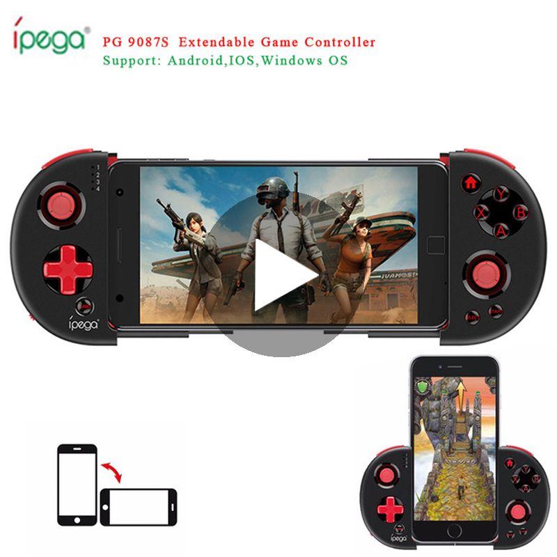 Bluetooth Gamepad Game Pad Pubg Mobile Джойстик для Android Сотовый телефон ПК Trigger контроллер Joypad PABG Pugb Free Fire