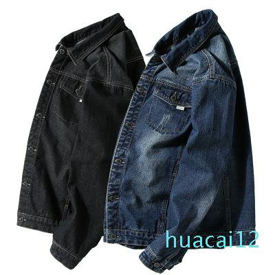 Hot Sale Designer Fashion Men Wash Denim Jeans Shirt Plus size 7xl Autumn Long Sleeves Shirt Casual Slim Fit Denim Tops High Quality