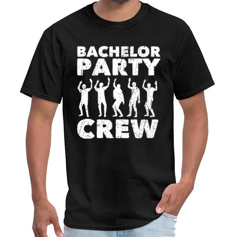 Divertente Bachelor Party spudorata uomini della maglietta ropa anime della maglietta di grande formato s cime hiphop ~ 5XL
