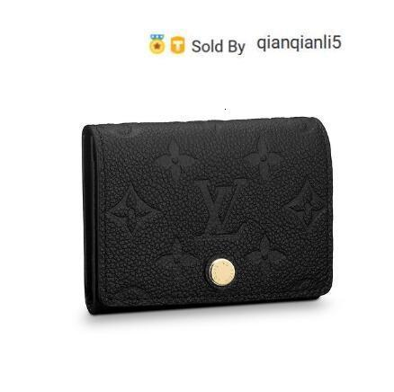 qianqianli5 ZZKC CARD HOLDER M58456 NEW WOMEN FASHION SHOWS EXOTIC LEATHER BAGS ICONIC BAGS CLUTCHES EVENING CHAIN WALLETS PURSE