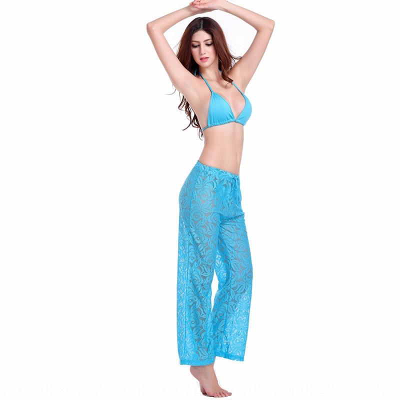 ajustável praia calças cinto de hot pants de sexy exterior moda biquíni rendas Praia biquíni Mulheres zfgig