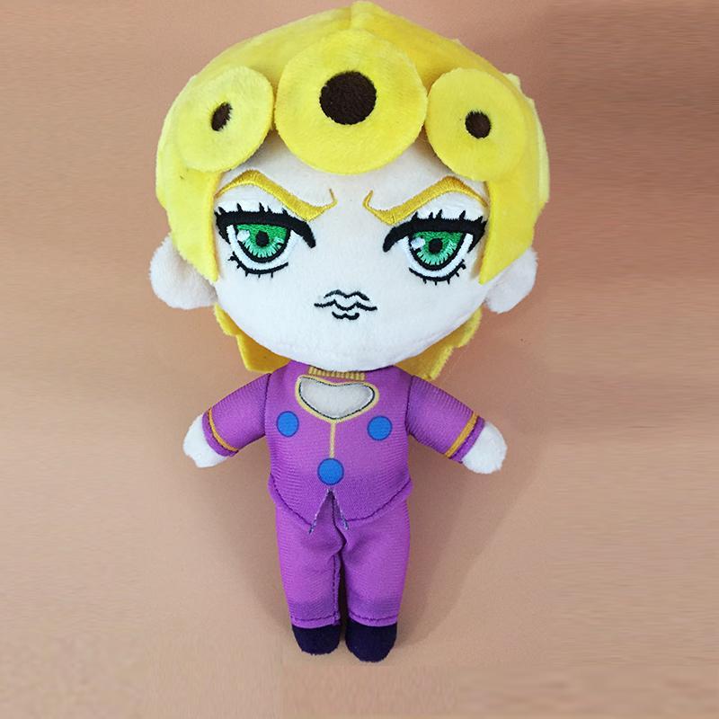 20-сантиметровый ЯПОНИЯ JoJo в Bizarre Adventure Giorno Giovanna Плюшевого Bucciarati Josuke Плюшевая Anime Character подарок на день рождения для детей,