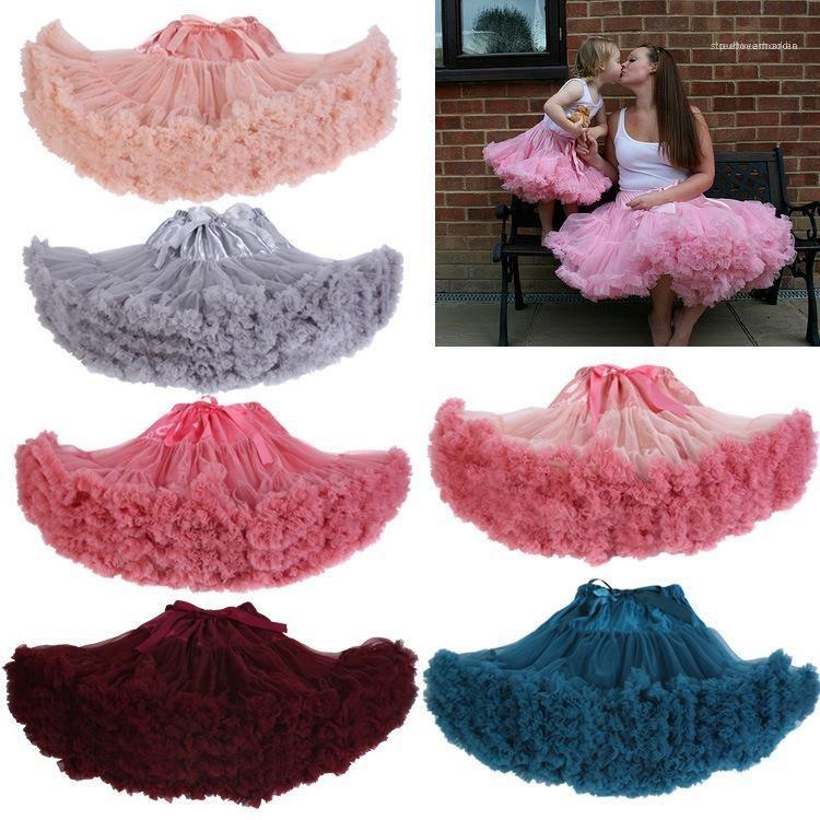 Sexy высокой талией Сплошной цвет Юбка туту Famale Летняя одежда Женская сетка сращивания Туту юбка Bow Knot
