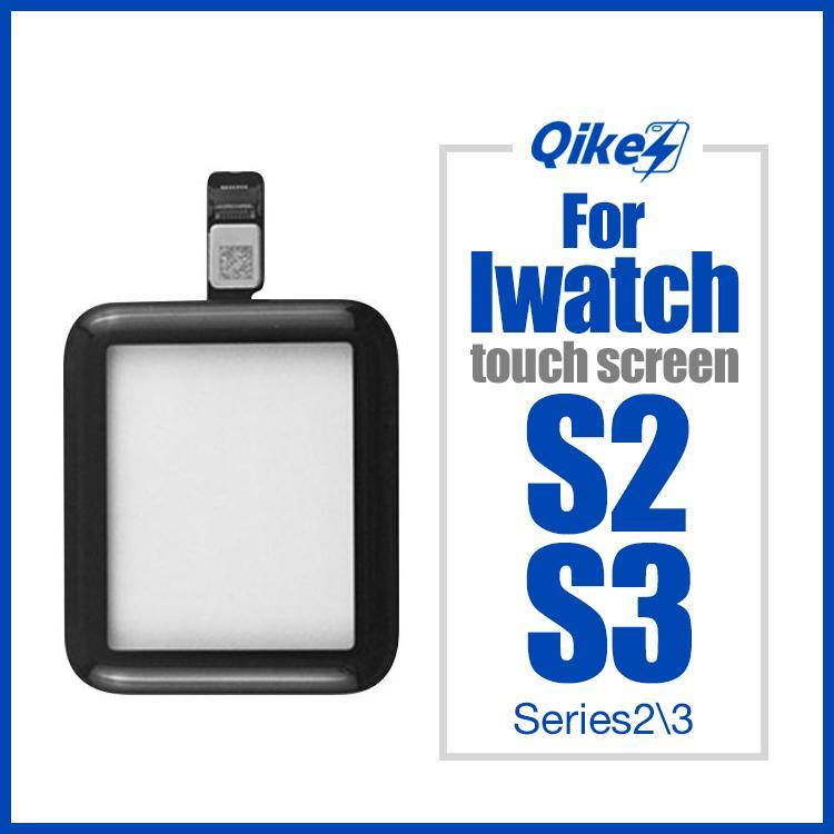 38mm 42mm Digitalizador de tela de toque para a Apple Watch Series 2 3 S2 S3 LCD Sensor de Vidro Frontal Capa do Painel Com Cabo Flex