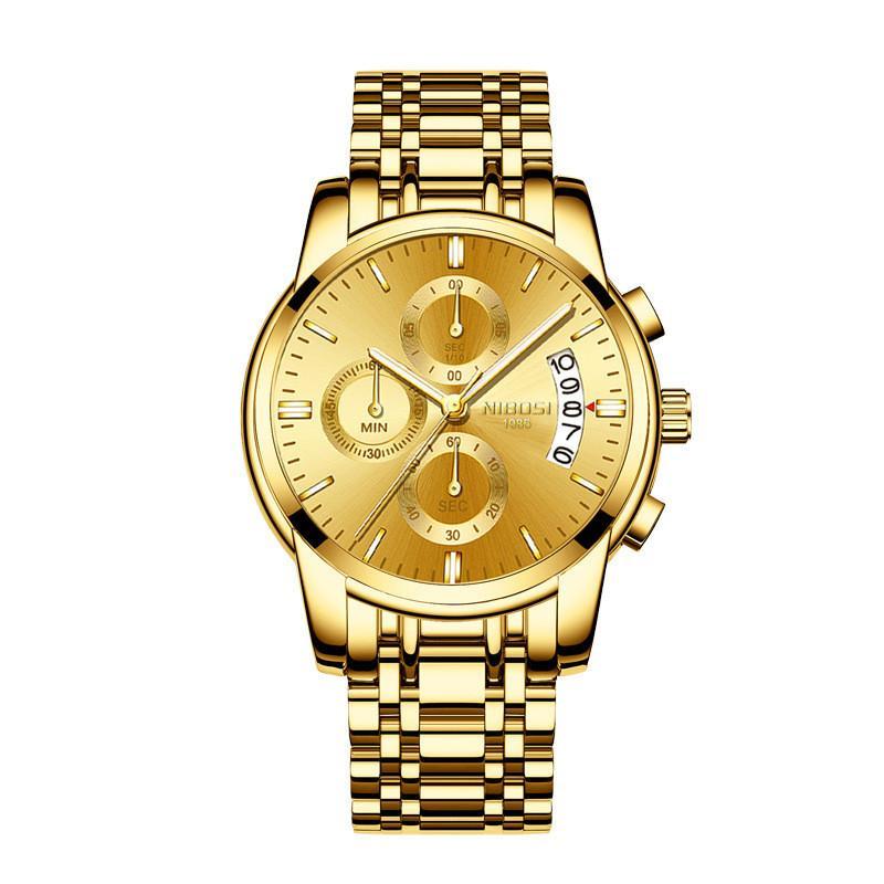 Mayforest gli uomini della vigilanza superiore di marca di lusso Data Maschio automatico quarzo Mens impermeabile Sport Watch Clock Relogio Masculino