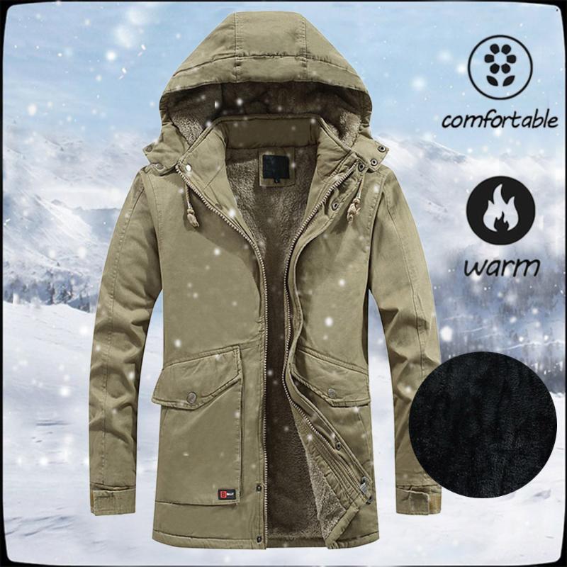 Sonbahar Kış Erkek Ceket erkek Ceket Uzun Kollu Dış Giyim Erkek Erkek Marka Giyim Coats Erkek #D