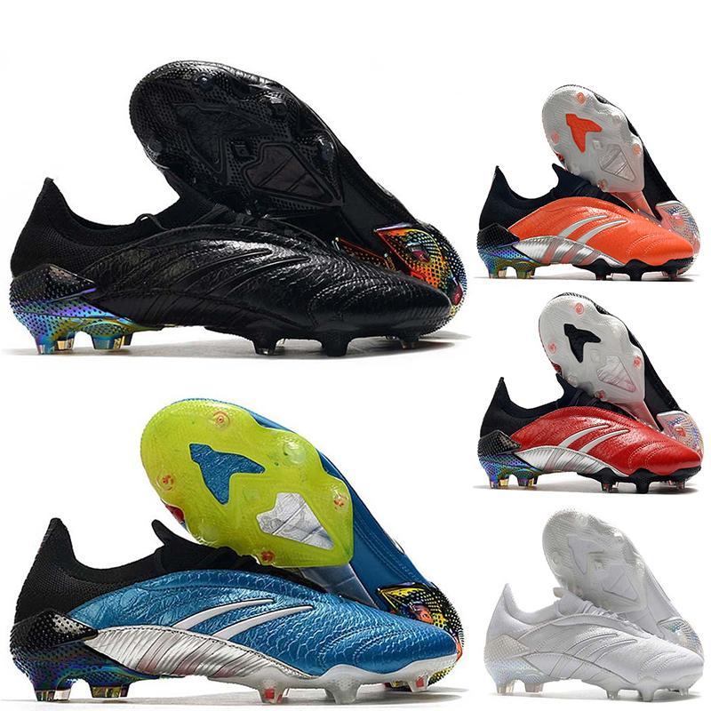 Chuteras Predator 20 Archive Edizione limitata FG ZZ Zidane David Beckham 23 20 + x Scarpe da calcio da uomo a buon mercato Scarpe da calcio Original Stivali da calcio 39-45