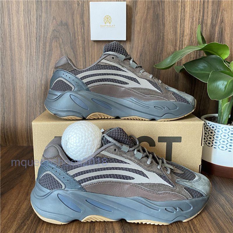 En iyi En Kaliteli Kanye West Koşu Ayakkabıları 700 Dalga Koşucu Erkek Kadın Spor Sneakers Aptaltia Yansıtıcı Analog Tephra Dalga Runner Vanta Racer