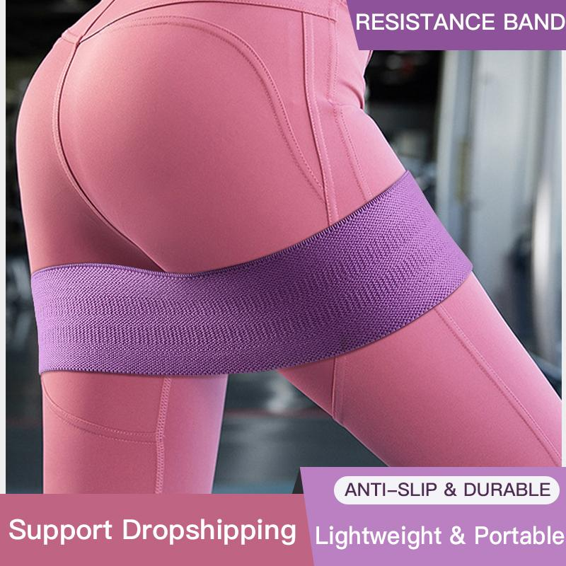 Resistance Bands Booty Builder Hip Fabric Non Slip For Fitness Yoga Pilates Legs And BuGlute Workout Stretching Training
