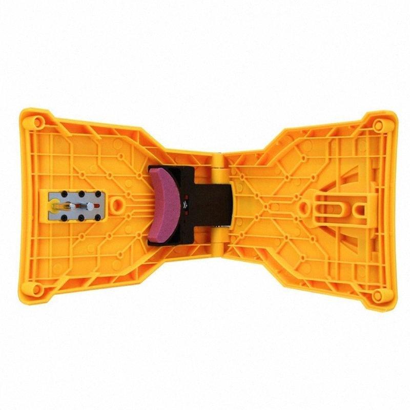 Chainsaw Teeths Sharpener Cadeia Saw Plastic Acessórios lâmina Afiação Grinder Ferramenta Monte Saw Cadeia Sharpener 0BH9 #