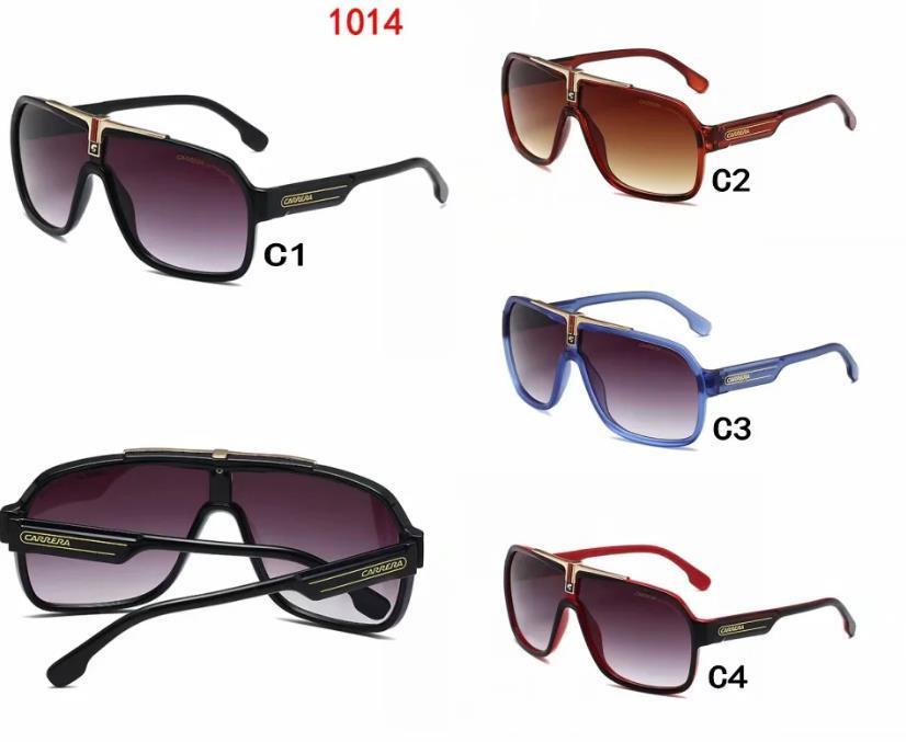 2020 Marke h1014 Sonnenbrillen für Frauen Retro-Mode übergroßen Schatten von mehrfarbigen Persönlichkeit Sonnenbrille für o1 Männer und Frauen