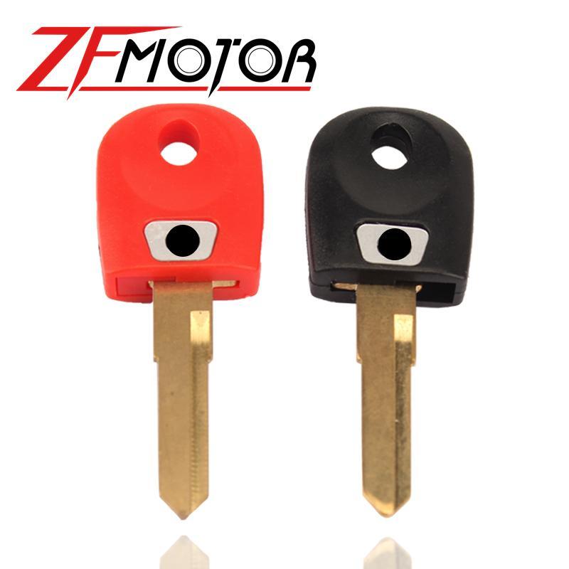 Motorrad Einzel Trough Key Motorrad Key Blank Blatt für 748 848 999 600 1098 800 900 S2R / S4 / S4R / ST3 4x0.9cm